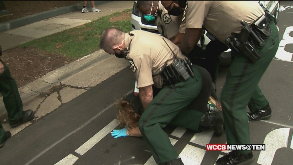 43 Arrests Made Outside Of Mecklenburg County Jail