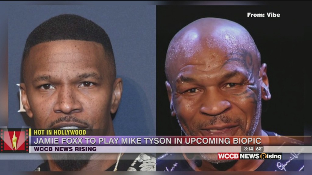 Hot In Hollywood: Jamie Foxx To Play Mike Tyson And Jimmy Kimmel Taking A Break