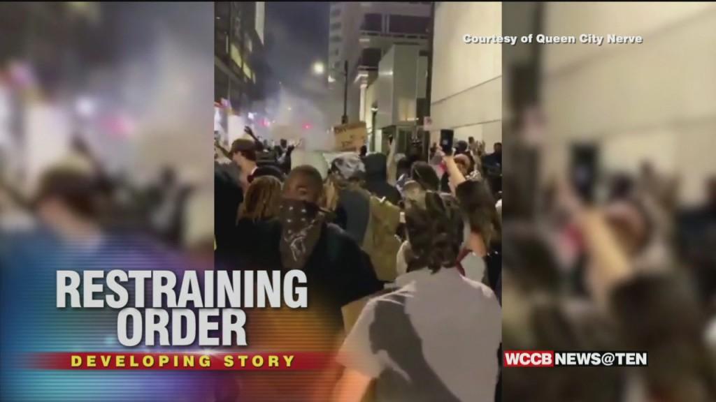 Protestors Sue Cmpd