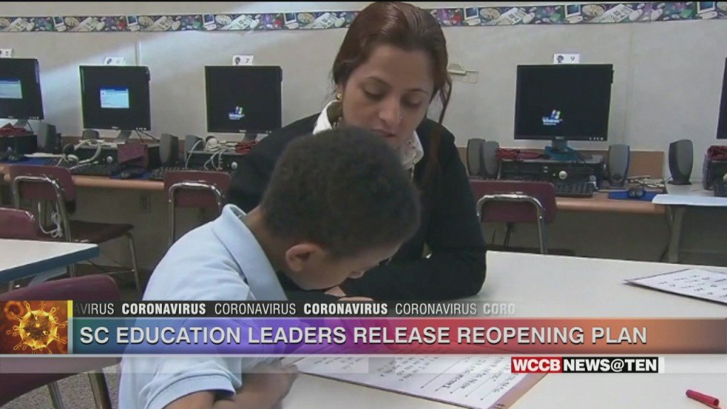Sc Education Leaders Release Reopening Plan
