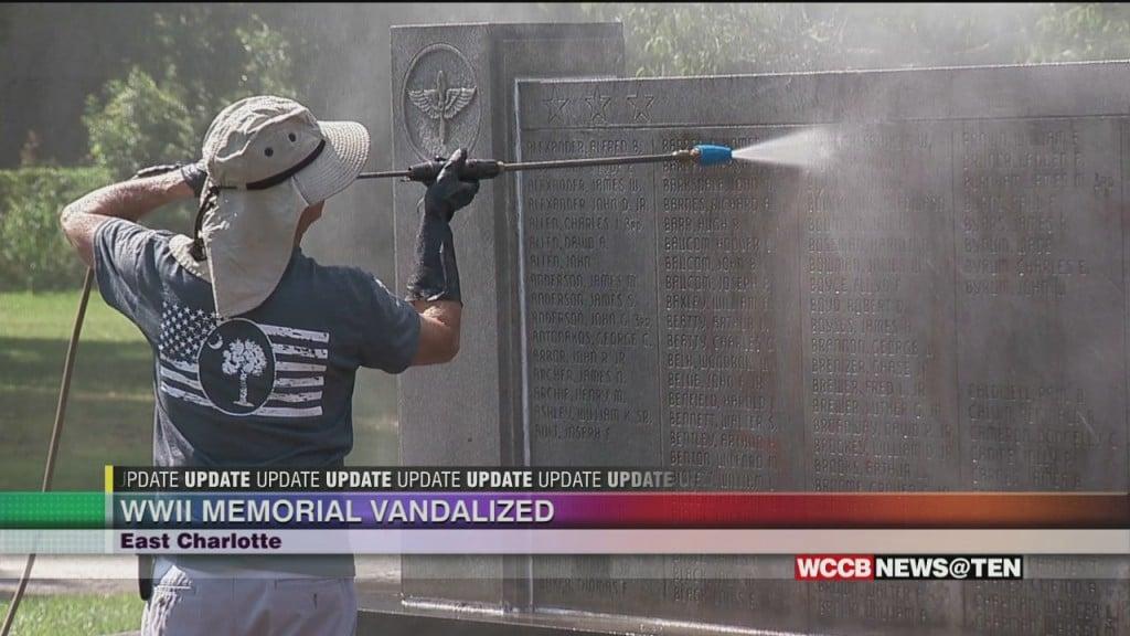 World War Ii Memorial Vandalized