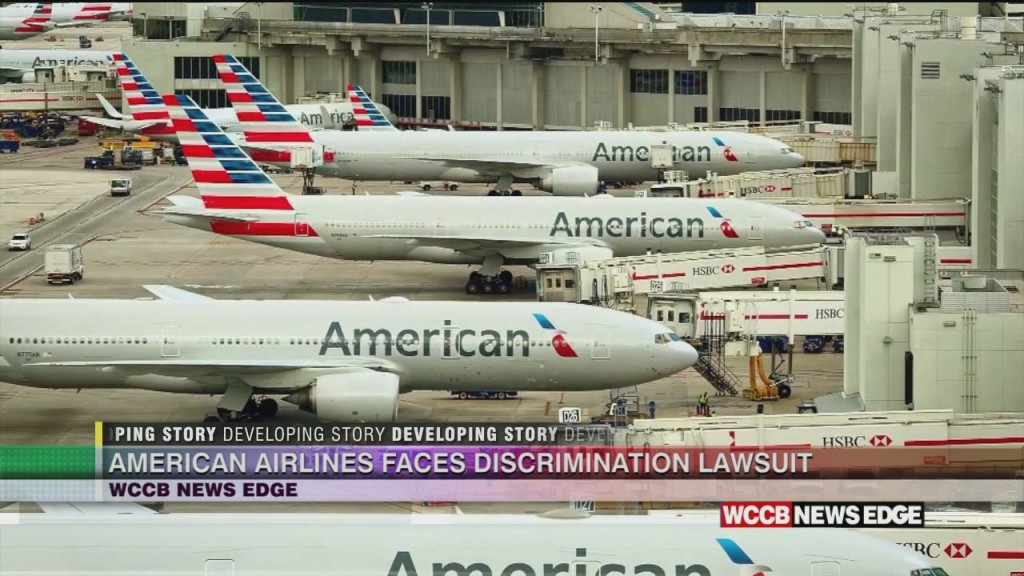 American Airlines Faces Discrimination Lawsuit