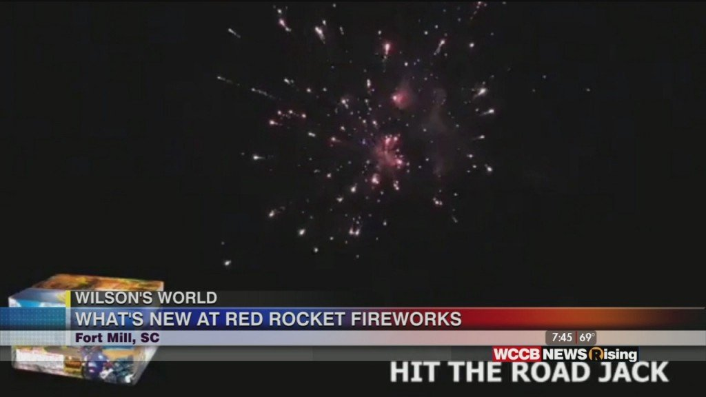 Wilson's World: Getting Ready For July 4th At Rocket Fireworks