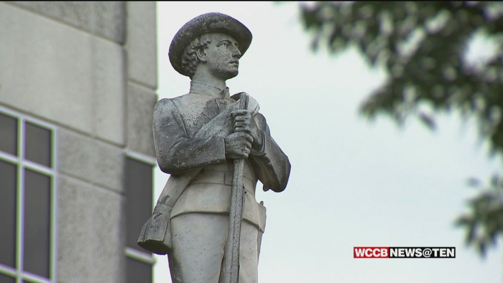Push To Remove Controversial Statue In Gaston County