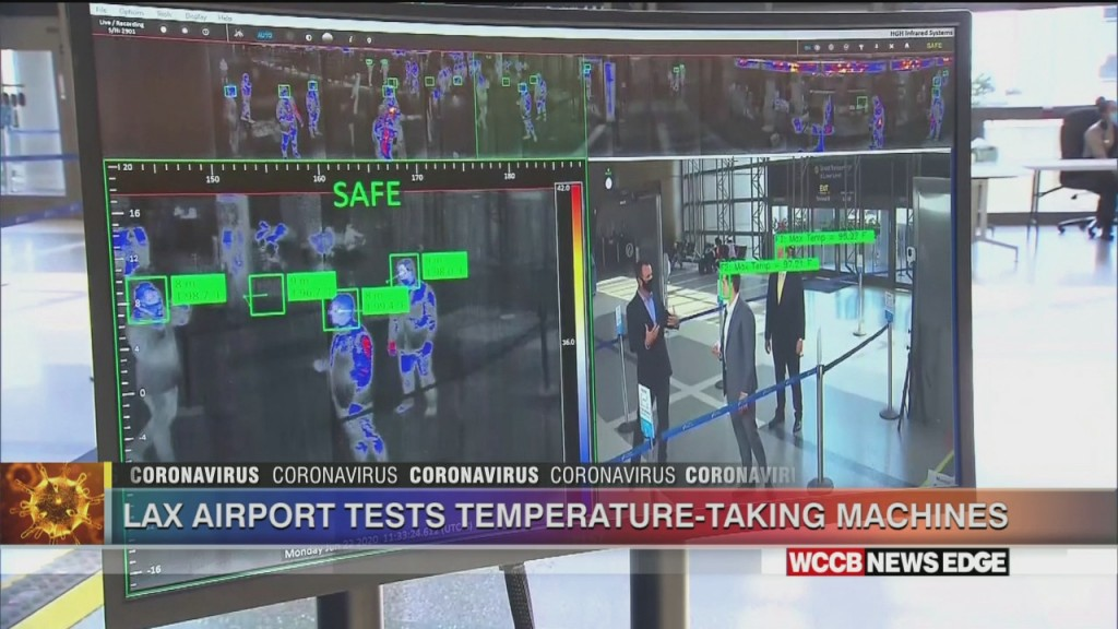 Lax Airport Tests Thermal Scanners