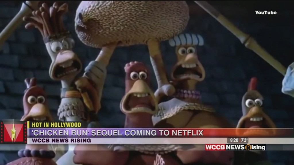 Hot In Hollywood: 'chicken Run' Sequel Coming And Miley Cyrus Talks Getting Sober