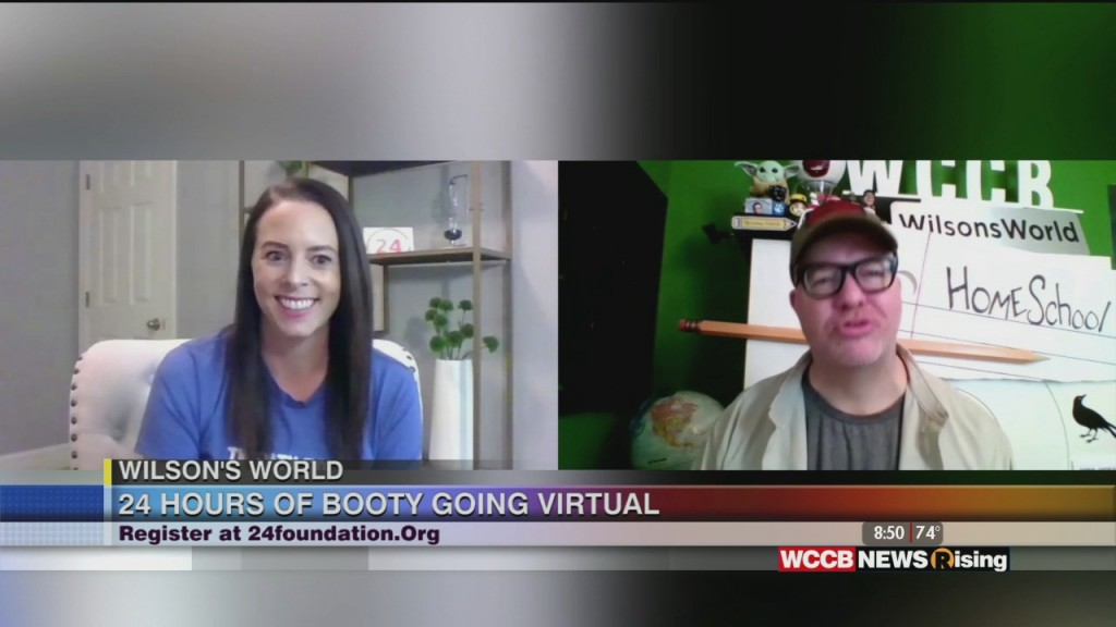 Wilson's World: 24 Hours Of Booty Going Virtual And Heading To Your Backyard