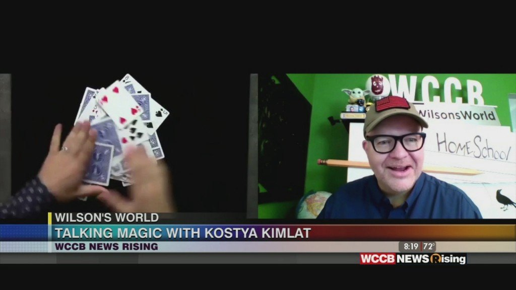 Wilson's World: Talking With Kostya Kimlat, The Magician That Fooled Penn And Teller!