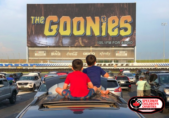 Charlotte Motor Speedway Drive In The Goonies