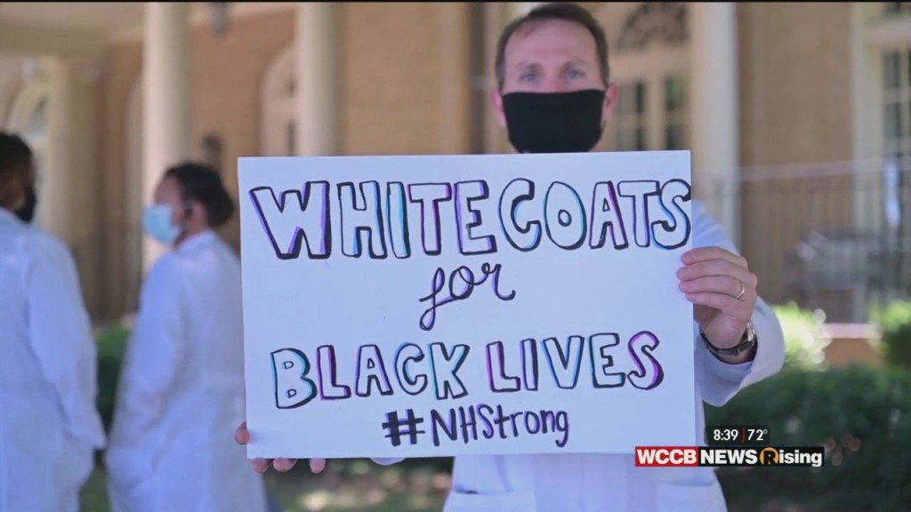 "Healthy Headlines: Novant Health's ""white Coats For Black Lives"" Rally"