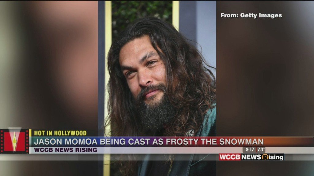 Hot In Hollywood: Jason Mamoa To Voice 'frosty The Snowman' And New 'fallout' Series Coming To Amazon