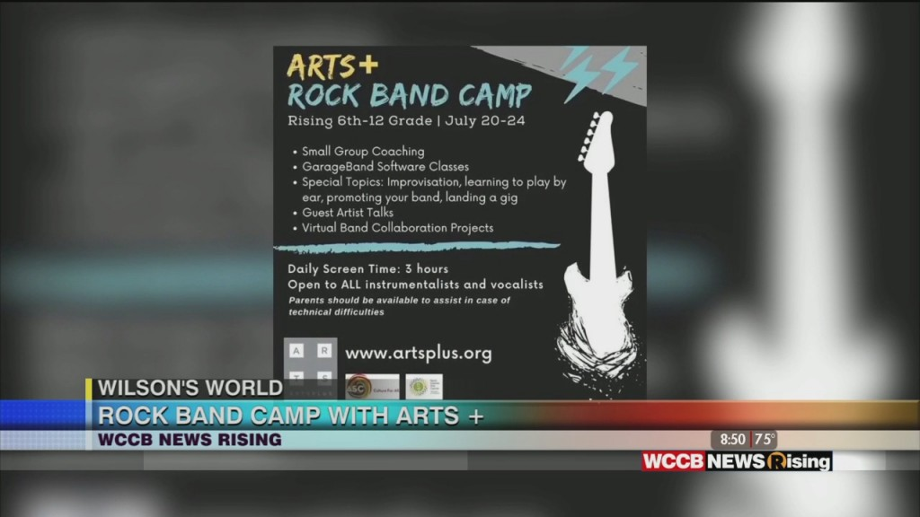 Wilson's World: Virtual Rock Band Camp With Arts+