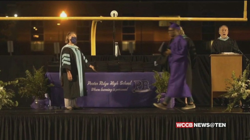 New Covid Cluster After Union County High School Holds Graduation Ceremony