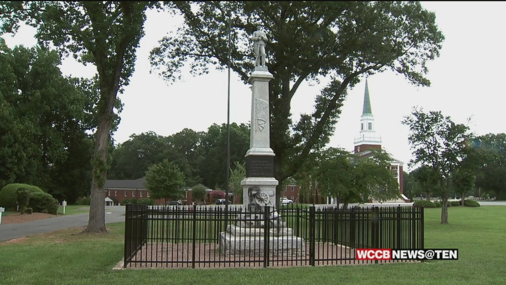 Debate Continues Over Confederate Monuments In Charlotte Area