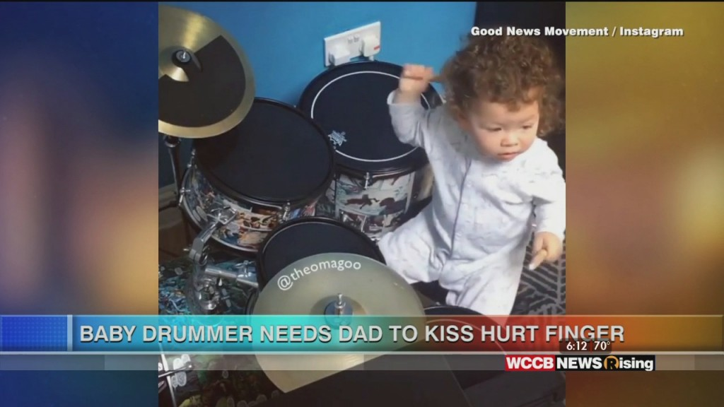 Viral Videos: Kid Mean Mugs Mom And Baby Drummer Gets A Boo Boo
