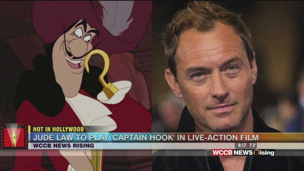 Hot In Hollywood: Jude Law To Play 'captain Hook' And 'stanley' Want His Own Spin Off