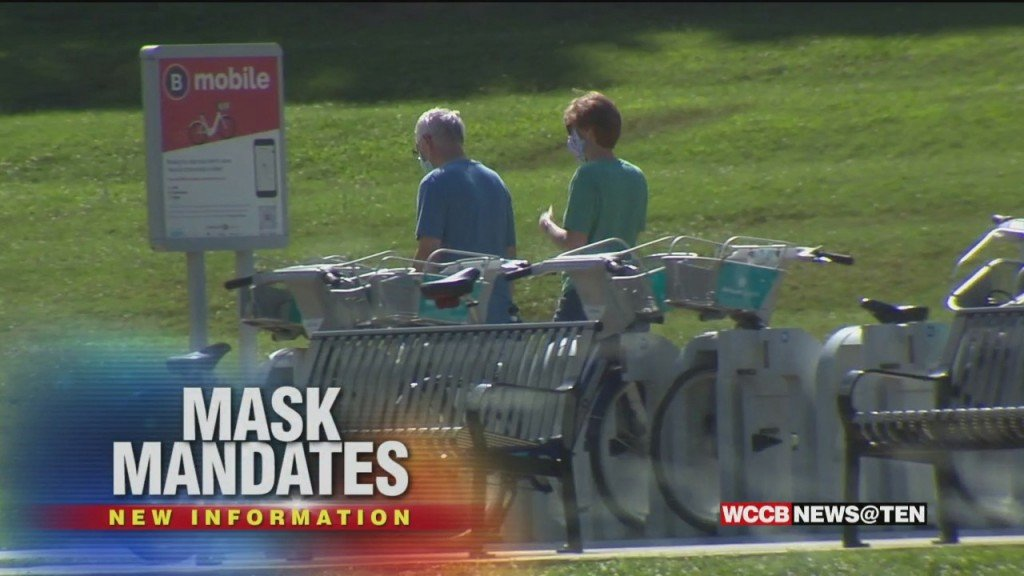 Masks Now Required At Mecklenburg Co. Parks; Inside County Buildings