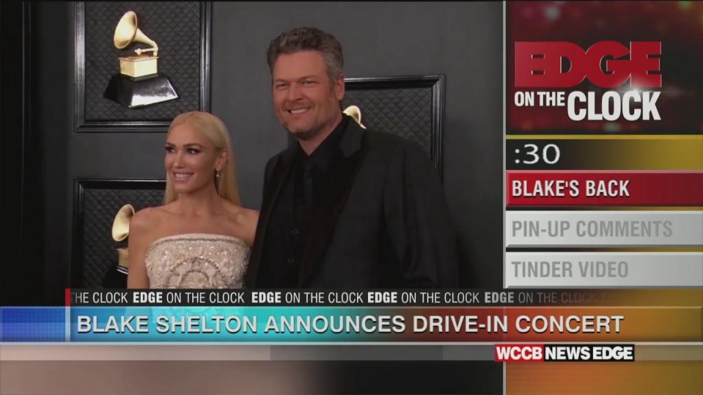 Blake's Back!