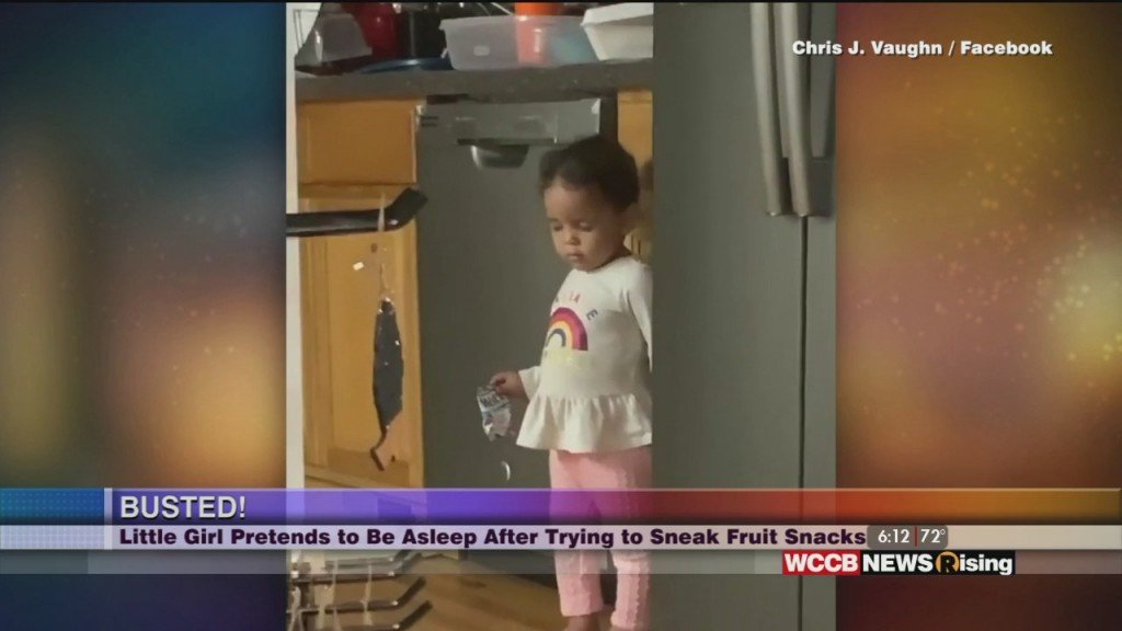 Viral Videos: Hey Ya Rona And Little Girl Busted For Stealing Snacks