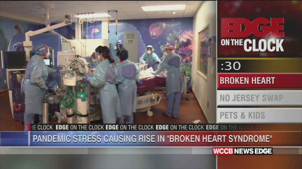 "Edge On The Block: ""broken Heart Syndrome"" On The Rise During Pandemic"