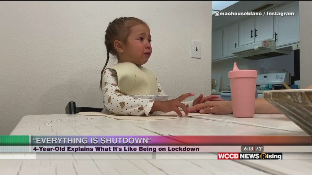Viral Videos: Dramatic Toddler And Little Girl Gives Perspective On Pandemic