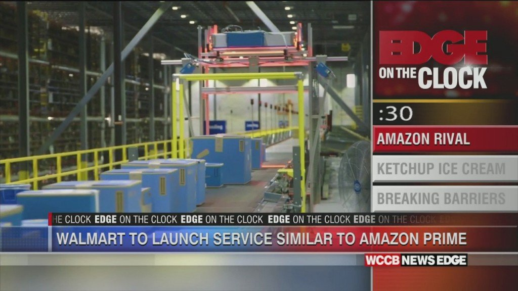 Edge On The Clock: Walmart's New Service To Rival Amazon Prime