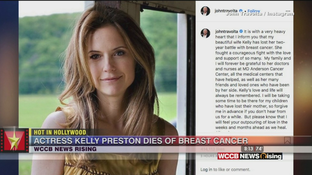 Hot In Hollywood: Kelly Preston Passes From Breast Cancer And Tim Mcgraw Releases New Song