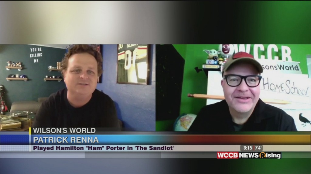 Wilson's World: The Sandlot Actor Patrick Renna Talks About This Week's Cms Drive In Movie Night
