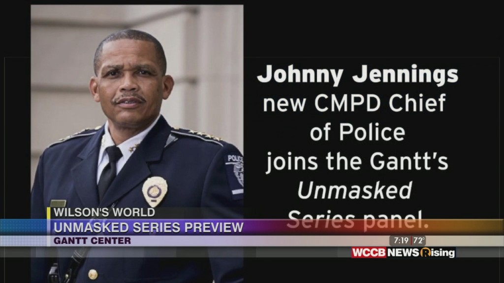 "Wilson's World: Previewing The Gantt Center's Tonight ""unmasked"" Virtual Conversation With Cmpd Chief Johnny Jennings"