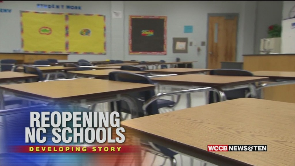 Nc To Reopen Schools With Limited Capacity; Cms Will Decide On Local Plan