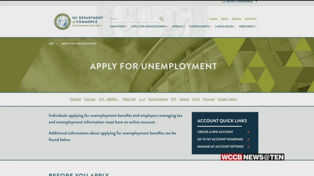 Growing Frustrations For People Who Are Still Awaiting Unemployment Benefits In North Carolina
