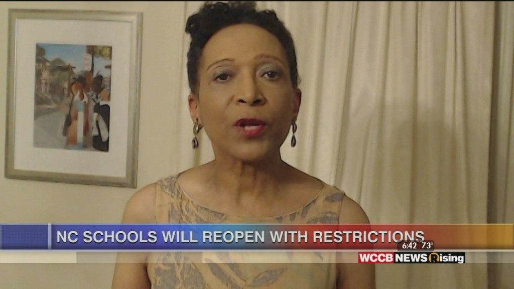 Mary C..curtis: Nc Schools Will Reopen In August