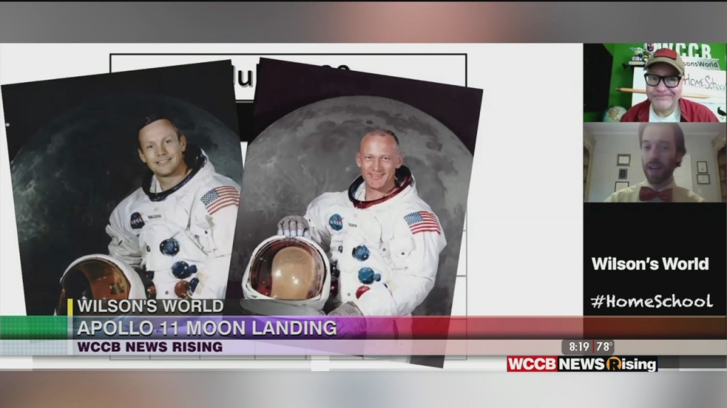 Wilson's World: Zach The Historian Takes Us Back To July 20th, 1969 The Day That Apollo 11 Landed On The Moon
