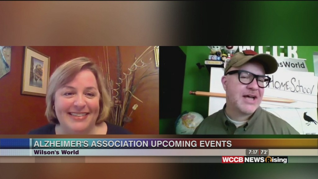 Wilson's World: Catching Up On The Events With The Alzheimer's Association