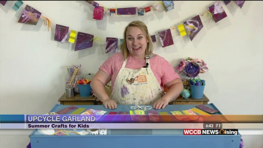 Crafts For Kids: Upcycle Garland