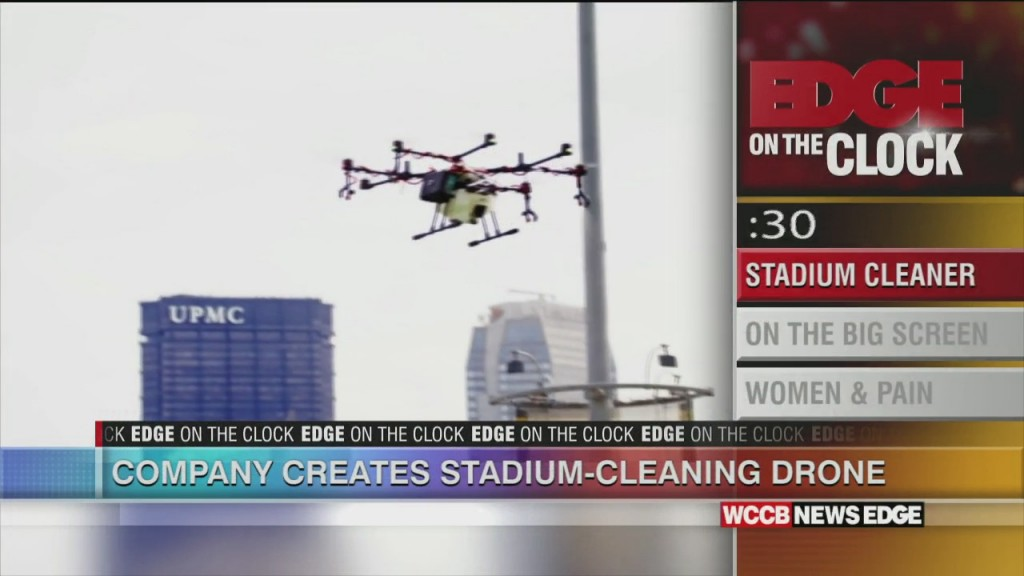 Company Developes Stadium Cleaning Drone