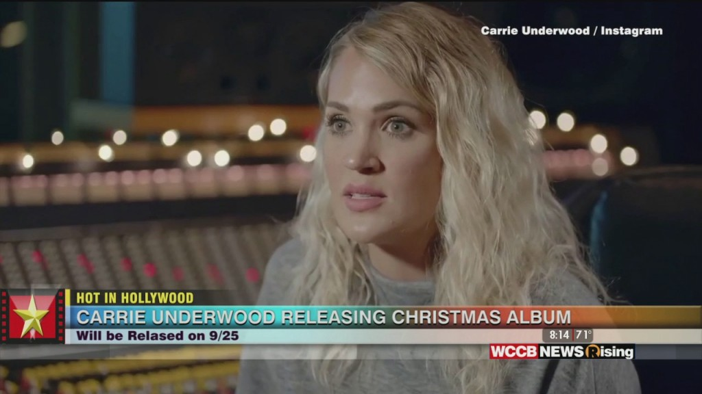 Hot In Hollywood: Carrie Releasing Christmas Album And David Schwimmer Talks 'friends' Reunion