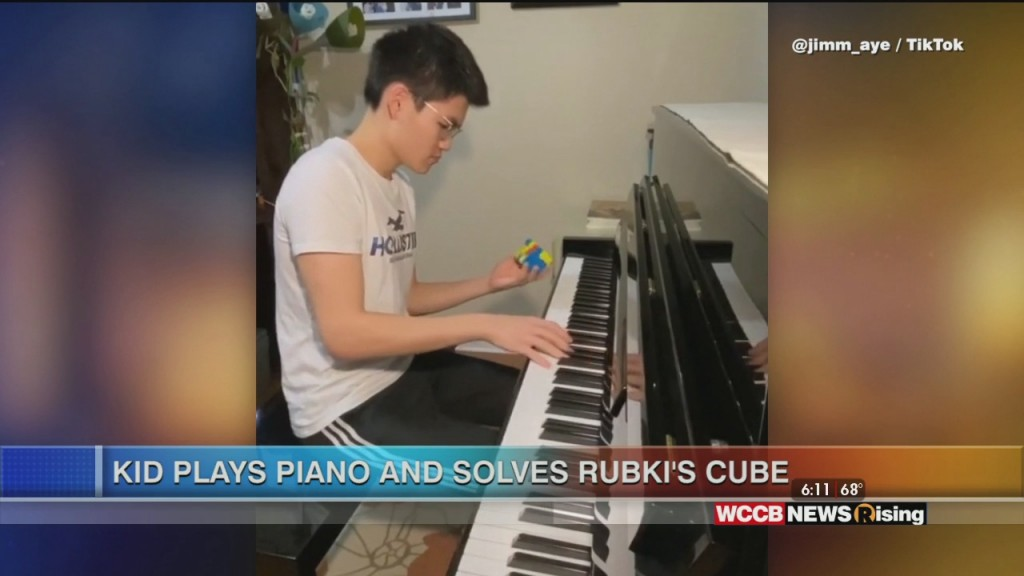 Viral Videos: Teen Plays Piano And Solves Rubik's Cube And Bison Charges At Woman