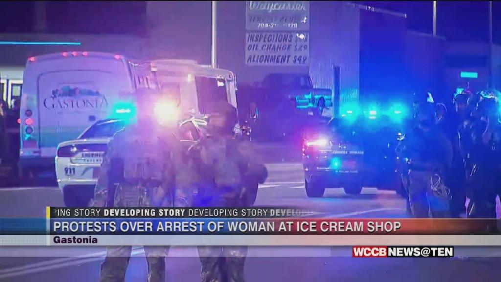 Tony's Ice Cream Protest