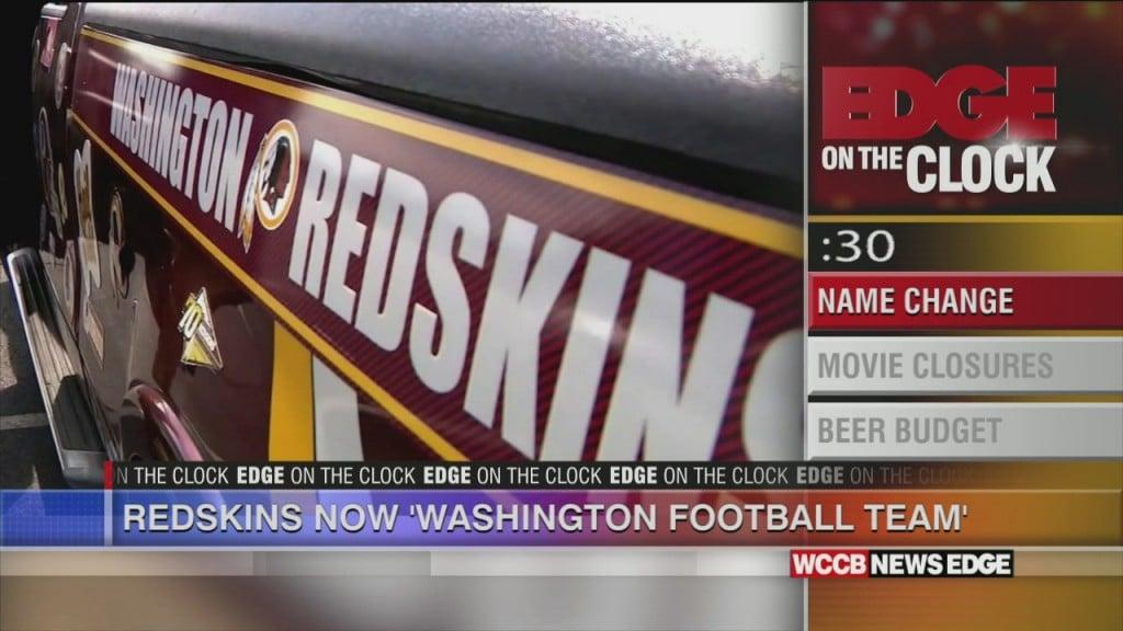 Washington Name Change