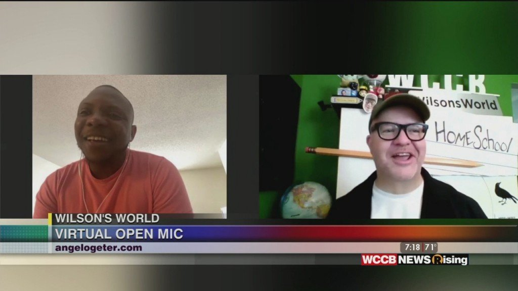 Wilson's World: Virtual Open Mic Event With Poet Angelo Geter