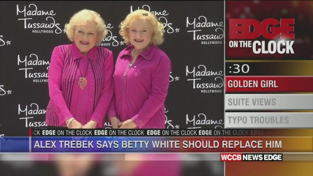 Jeopardy Host Alex Trebek Says (jokingly) He Wants Betty White To Replace Him