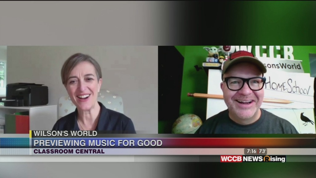 Wilson's World: Previewing Wccb's Music For Good With The Executive Director Of Classroom Central