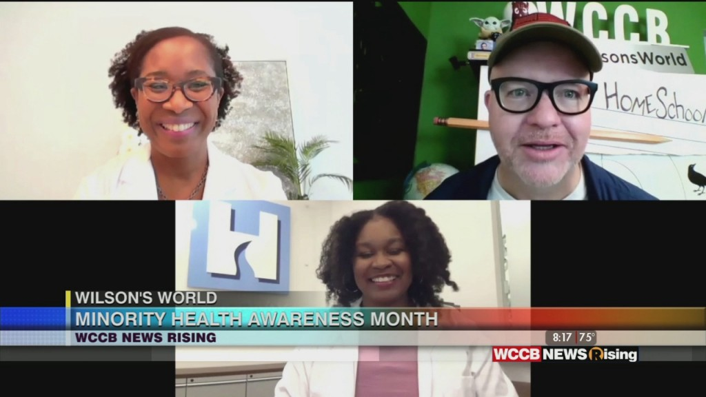 Wilson's World: Speaking With Doctors From Hopeway In South West Charlotte About Minority Mental Health Awareness Month
