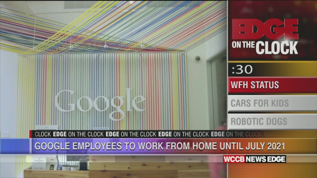 Google Extends Work From Home For Year