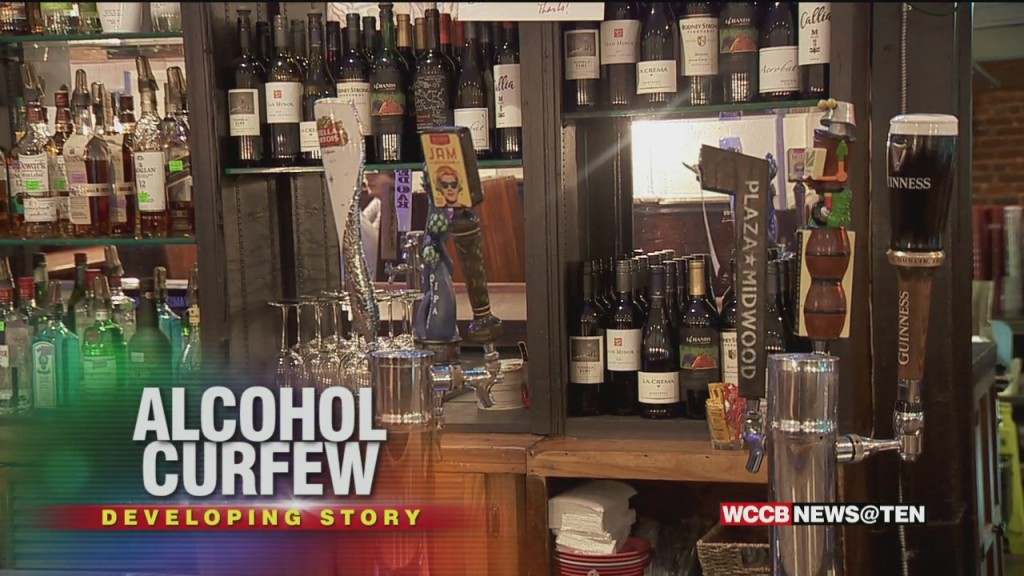 Cooper Announces State Wide Alcohol Curfew As Covid Metrics Stabilize