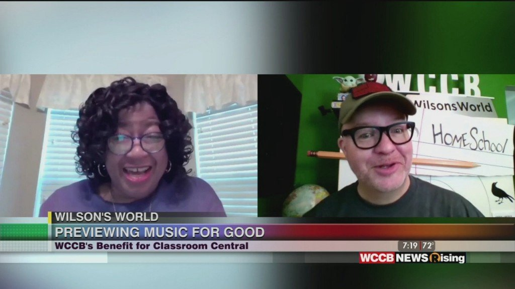 Wilson's World: Counting Down To This Saturday's Music For Good Virtual Event