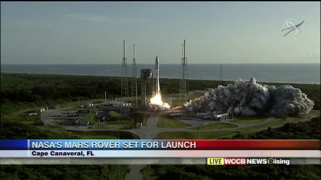 Mars Rover Launch Live On Rising