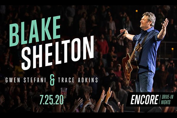 Blake Shelton Encore Drive In Nights Feature Image