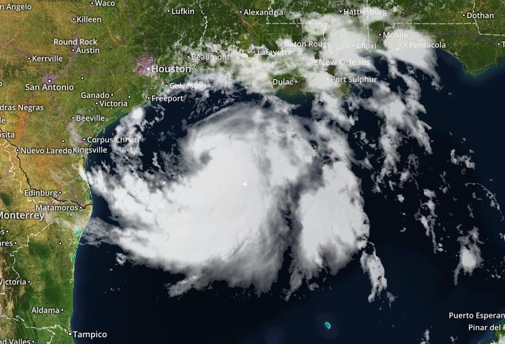 Tropical Storm Hanna - 24 July 2020